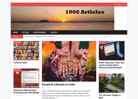 1000articles.in