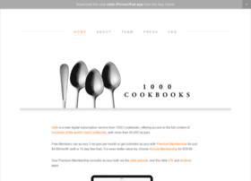 1000cookbooks.com