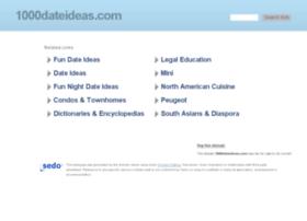 1000dateideas.com