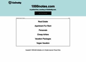 1000notes.com