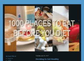1000placestoeatbeforeyoudiet.com