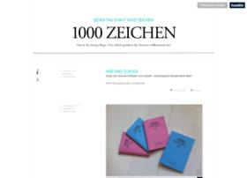 1000zeichen.de
