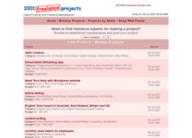 1001freelanceprojects.com