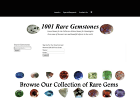 1001raregemstones.com