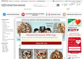 1001venetianmasks.com