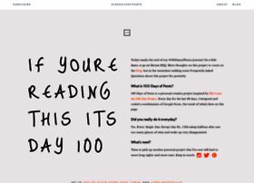 100daysoffonts.com
