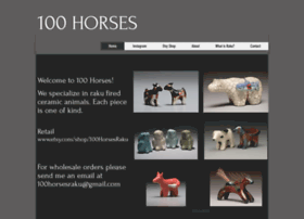 100horsesraku.com
