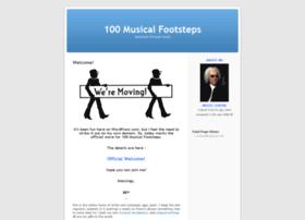 100musicalfootsteps.wordpress.com