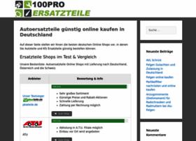 100pro-ersatzteile.de