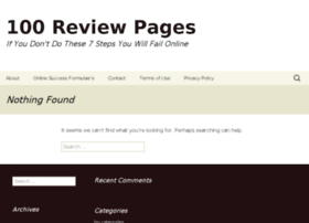 100reviewpages.com