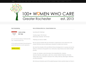 100womenwhocare-greaterrochester.org
