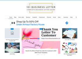 101businessletter.com