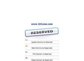 101cose.com