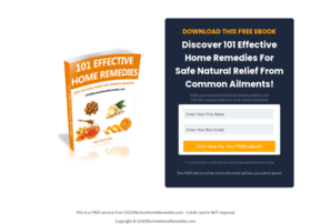 101effectivehomeremedies.com