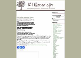 101genealogy.com