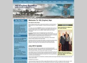 102ceylonsquadron.co.uk