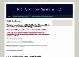 1031advancedseminar.com
