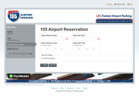 105airportparking.clickandpark.com