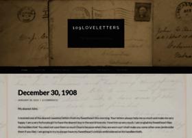 109loveletters.wordpress.com