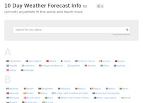 10dayweatherforecast.info