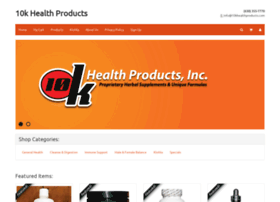 10khealthproducts.com
