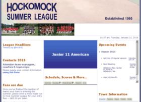 11a.hockomocksummerleague.com