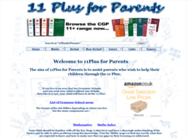 11plusforparents.co.uk