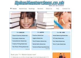 11plusmasterclass.homestead.com