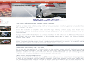 123-auto-car-loan-calculator.com