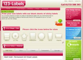 123-labels.co.uk