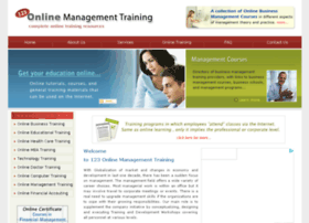 123-online-management-training.com