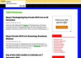 1234christmas.com