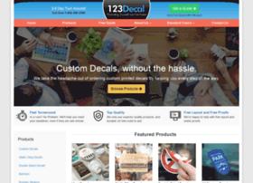 123decal.com