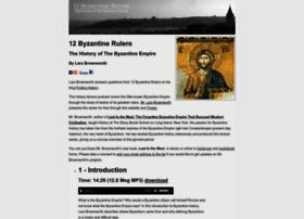 12byzantinerulers.com