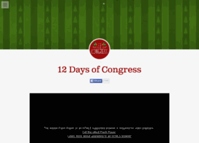 12daysofcongress.tumblr.com