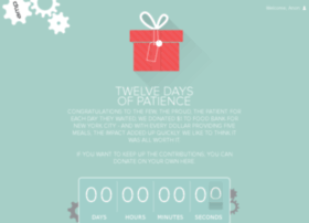 12daysofpatience.com