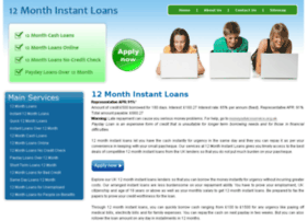12monthinstantloans.co.uk