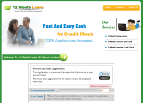 12monthloans247.co.uk