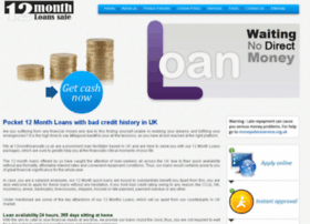 12monthloansafe.co.uk