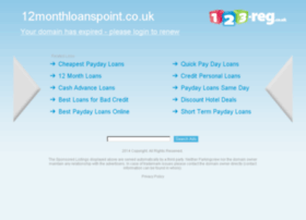 12monthloanspoint.co.uk