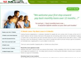 12monthpaybackloans.co.uk