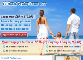 12monthpaydayloanspoint.co.uk