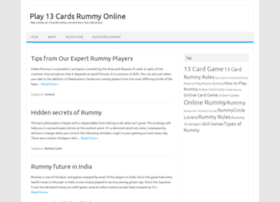 13cardsrummy.com