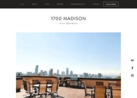 1700madison.com