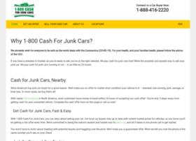 1800cashforjunkcars.com