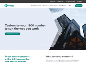 1800numbersaustralia.com.au