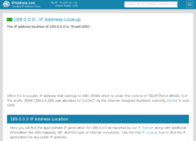189.ipaddress.com