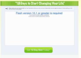 18daydiet.com