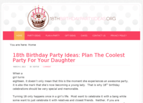 18thbirthdaypartyideas.org