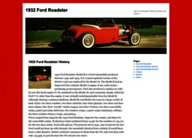 1932fordroadster.com
